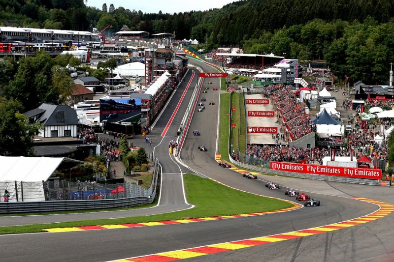 GRAND PRIX DE FORMULE 1 - SPA FRANCORCHAMPS