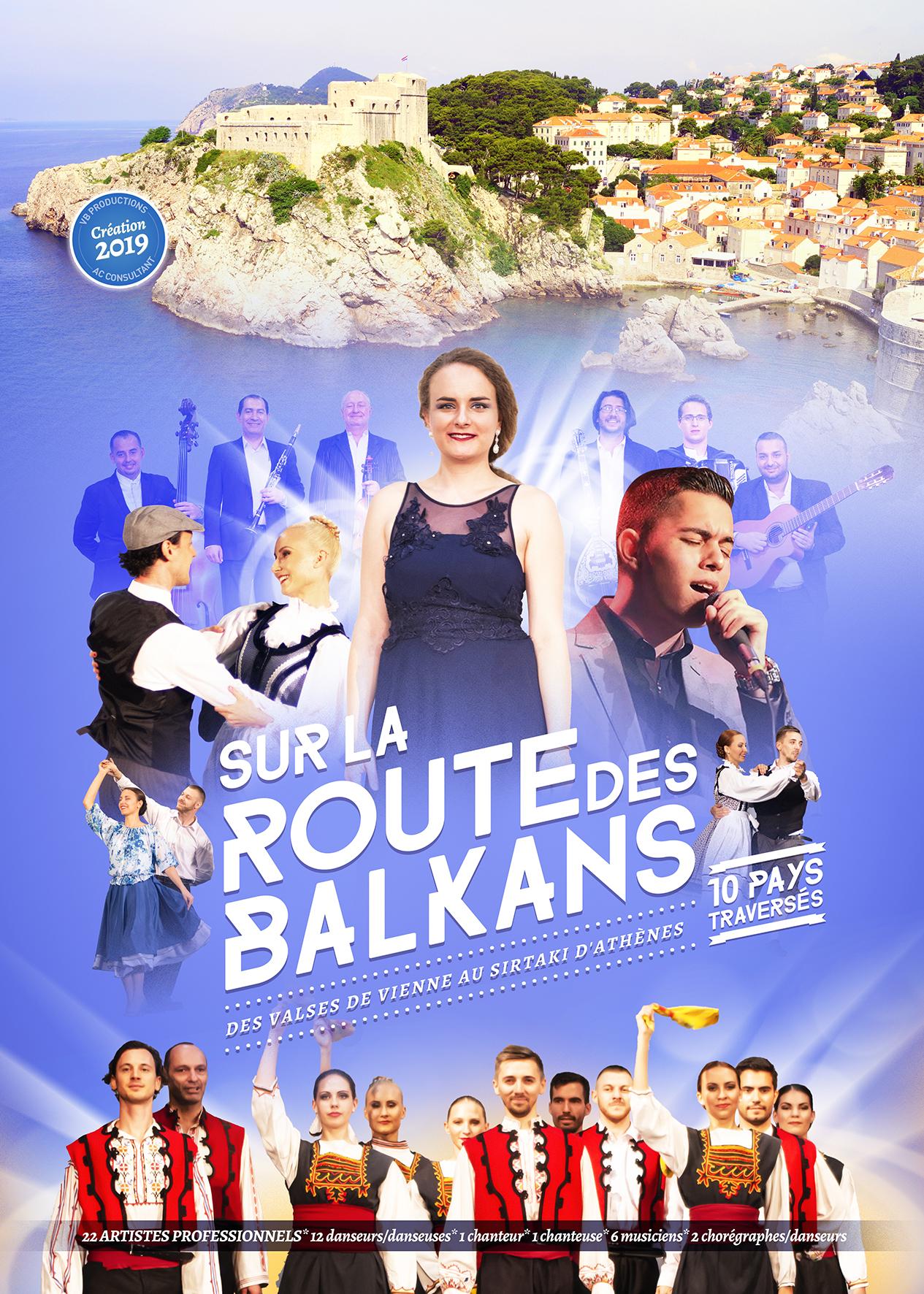 Déjeuner Spectacle  Sur la Route des Balkans