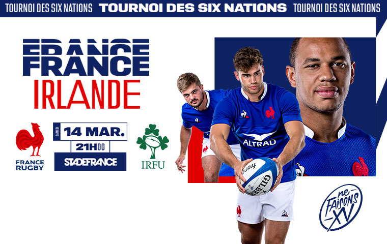 RUGBY: FRANCE-IRLANDE